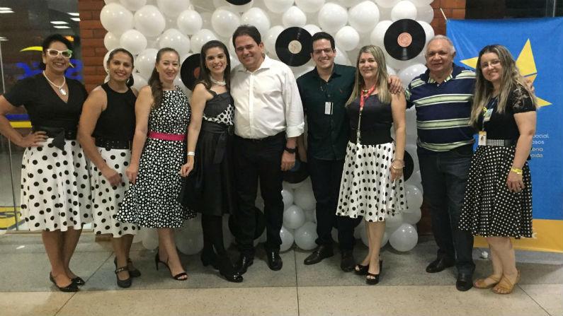 Leopoldo Veiga Jardim participa de atividades com idosos em Caldas Novas
