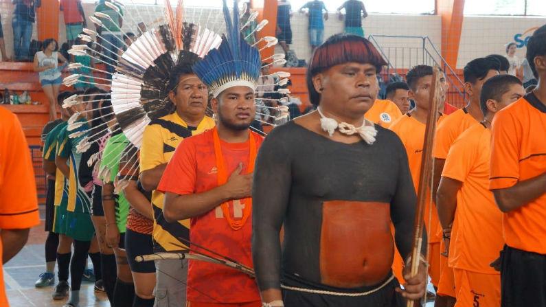 Leopoldo Veiga Jardim exalta cultura dos índios durante Jogos Indígenas