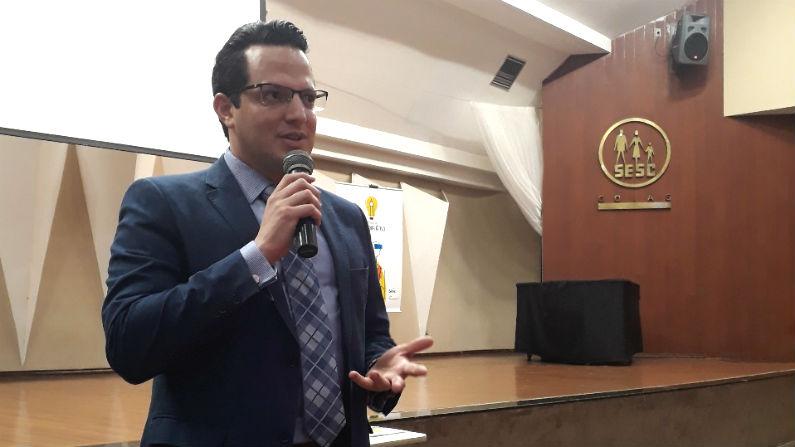 Diretor regional do Sesc GO participa da Semana do Educador Ativo